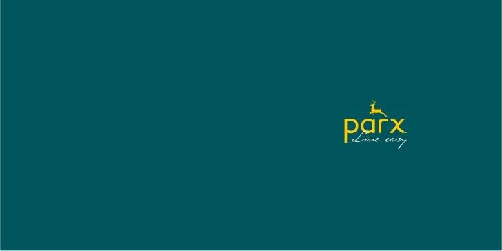 Parx catalogue aw11