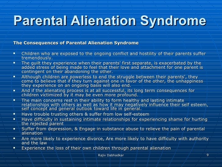 Parental Alienation & Hostile Parenting - Martin Law Firm