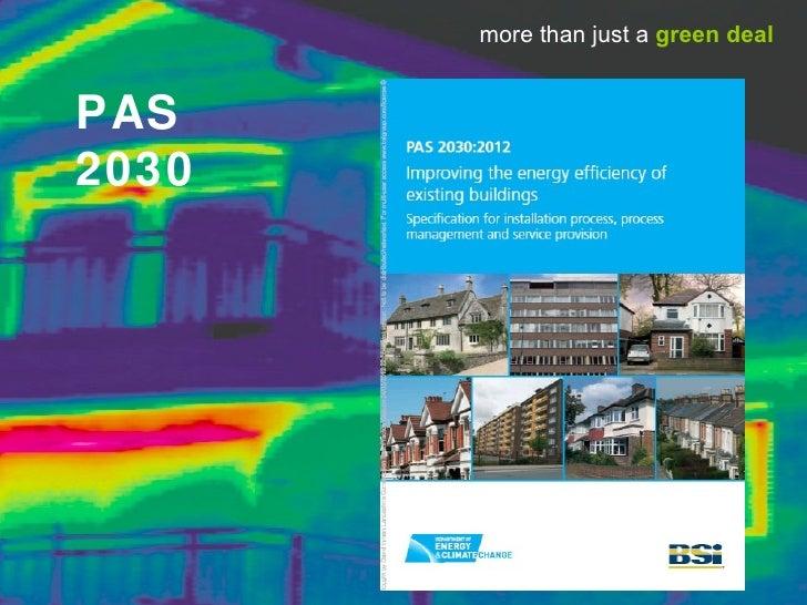 more than just a green dealPAS2030
