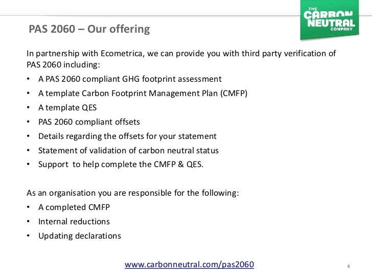 Pas 2060 Carbon Neutrality