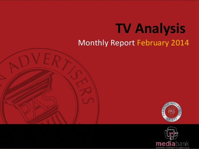 TV Analysis Monthly Report February 2014