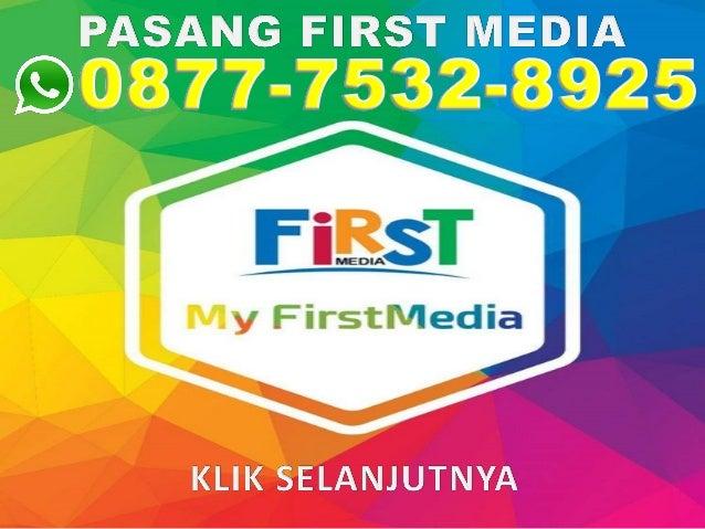 Pasang first media di kontrakan