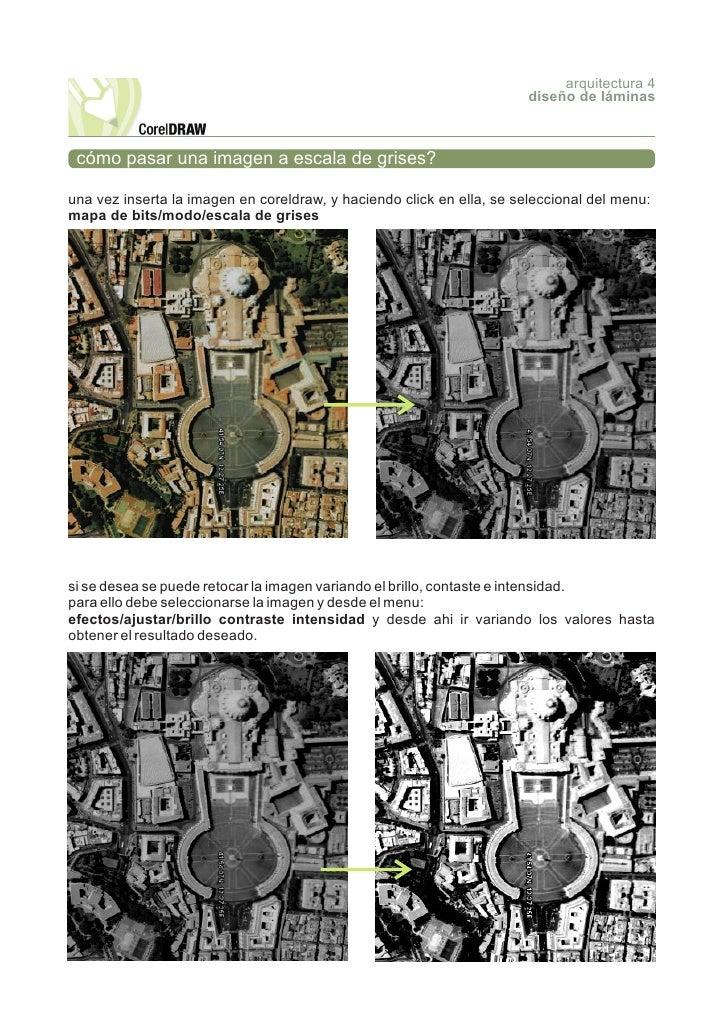 arquitectura 4                                                                        diseño de láminas     cómo pasar una...