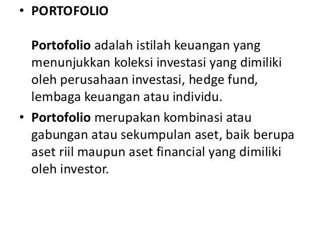 Manajemen portofolio valas