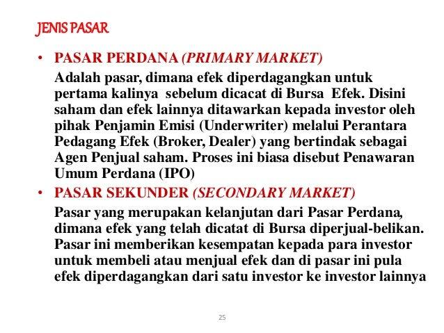 Dimana mencari data penawaran saham ipo