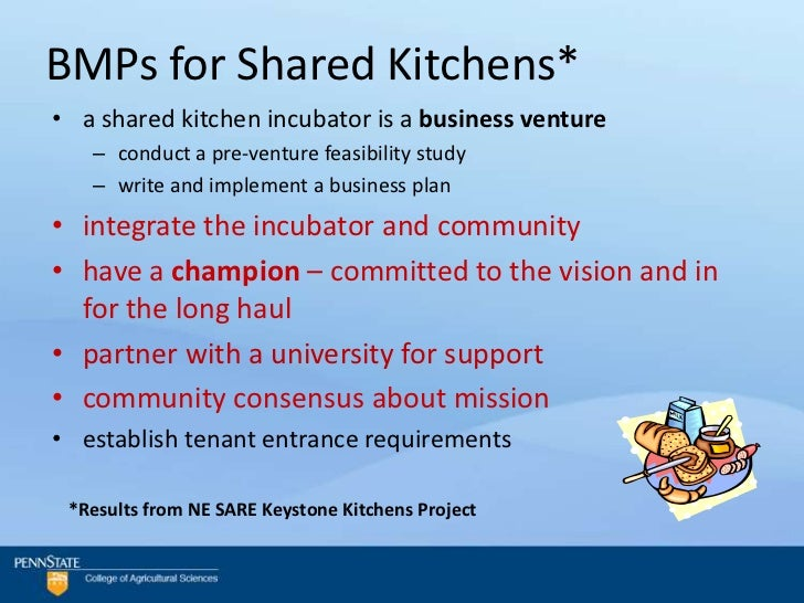 Shared Use Commercial Kitchen