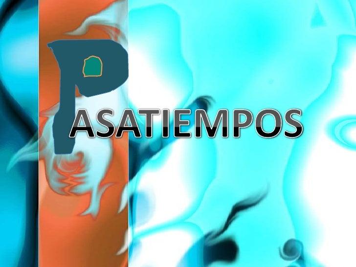 ASATIEMPOS<br />