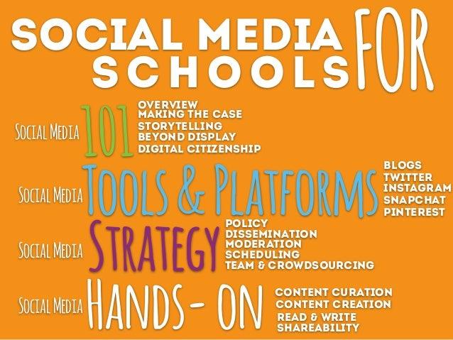 Social Media FOR Schools- Day 1 Slide 3