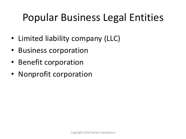 the corporation as a legal entity Introduction since 1897 , the principle of the separate legal personality of a  company has become a vital part of company law this date marks.