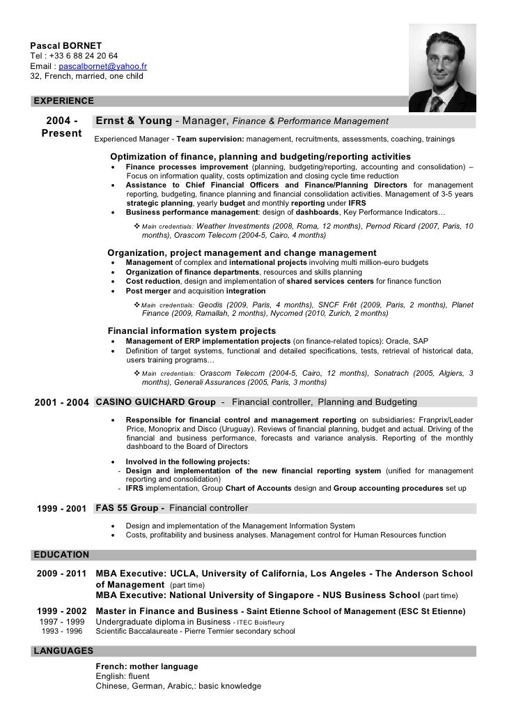 Please download my cv here for Ernst and young resume sample