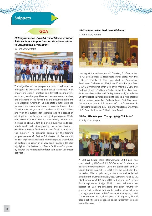 17  Exploring Business Opportunity Mission to Elecon  Engineering Company Limited  18 June 2014, Vallabh Vidyanagar  CII o...