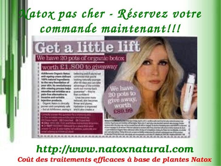 NatoxpascherR éservezvotre   commandemaintenant !!!     http://www.natoxnatural.comCoûtdestraitementsefficaces...