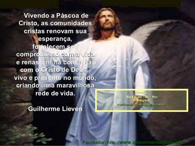 VivendoaPáscoadeVivendoaPáscoade Cristo,ascomunidadesCristo,ascomunidades cristasrenovamsuacristasreno...