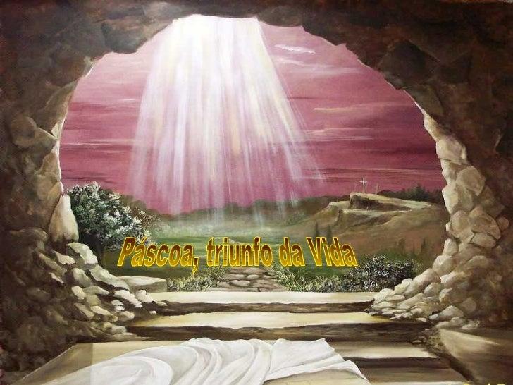 Celebramos hoje com alegria o Cristo Ressuscitadoe com renovada esperança a vida nova de ressuscitados.        O Dia de Pá...
