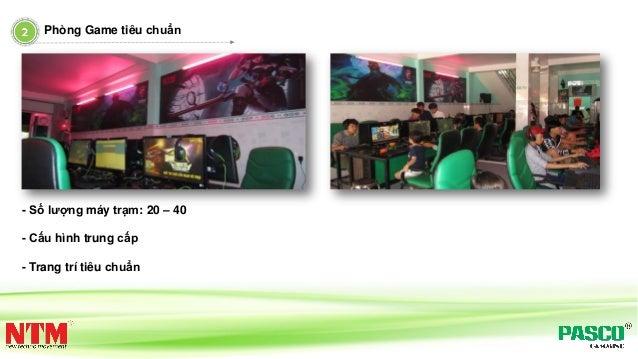 Phòng Game tiêu chuẩn - Số lượng máy trạm: 20 – 40 - Cấu hình trung cấp - Trang trí tiêu chuẩn