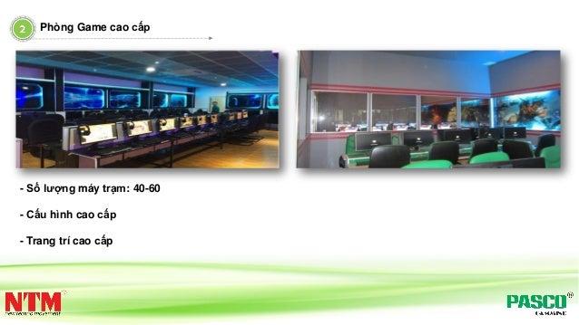 Phòng Game cao cấp - Số lượng máy trạm: 40-60 - Cấu hình cao cấp - Trang trí cao cấp
