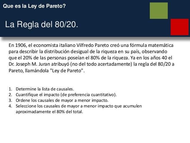 ley de pareto 80 20 pdf