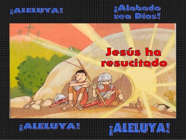 Aprovecharon este sepulcro cercanoAl pie de la                   para poner ahí el cuerpo de Jesús,montaña había un       ...