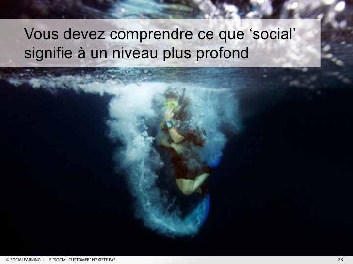 """Vous devez comprendre ce que 'social'        signifie à un niveau plus profond© SOCIALEARNING   LE """"SOCIAL CUSTOMER"""" NEXIS..."""