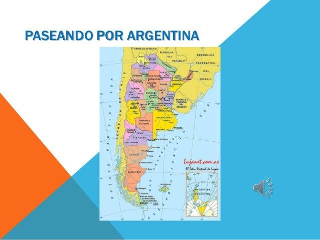 PASEANDO POR ARGENTINA