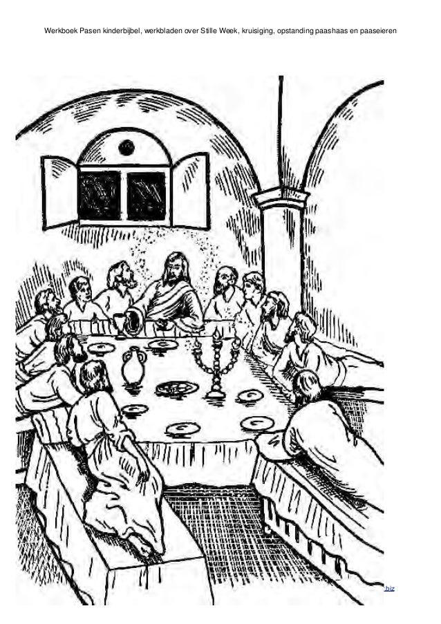 Christelijke Kleurplaten Discipelen Pasen Werkboek Met Kinderbijbel Verhalen En Werkbladen Van