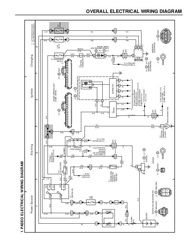 toyota paseo distributor wiring wiring diagram