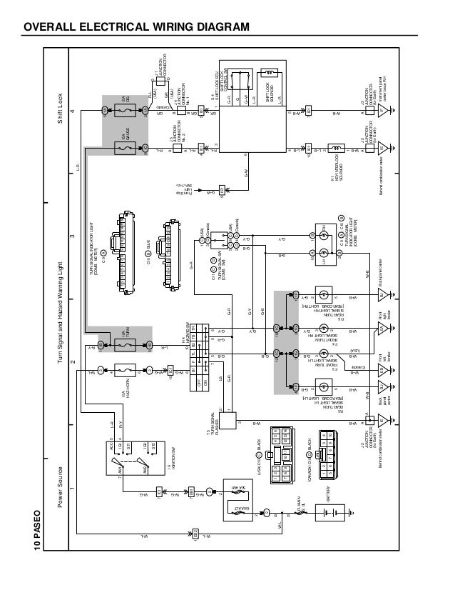 toyota paseo wiring diagram toyota paseo engine diagram