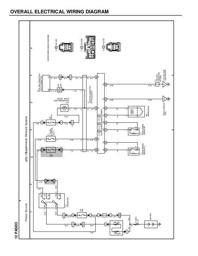 1996 Toyota Paseo Radio Wiring Diagram - Wiring Diagram