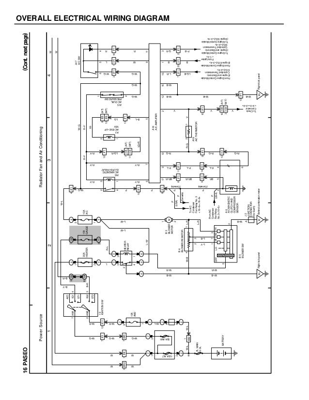 1986 Toyotum Camry Wiring Diagram