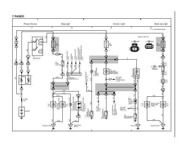 wiring diagram 95 toyota paseo  toyota  auto wiring diagram