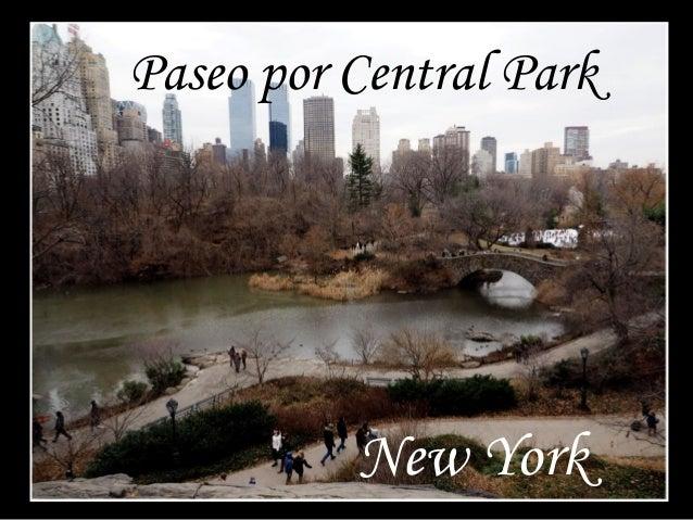 Paseo por Central Park  New York