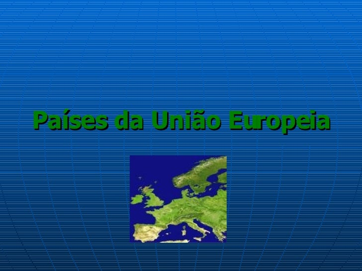 Países da União Europeia
