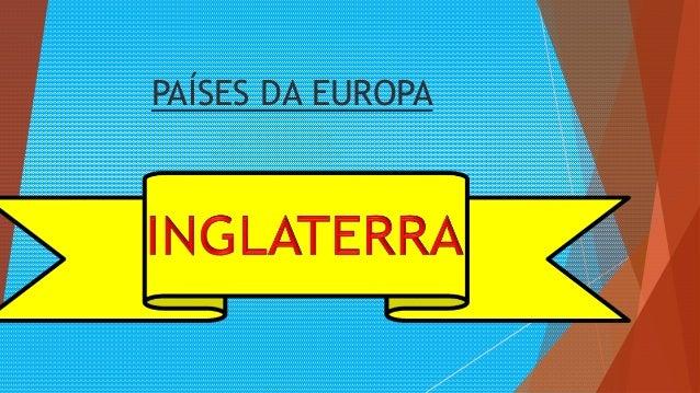 PAÍSES DA EUROPA