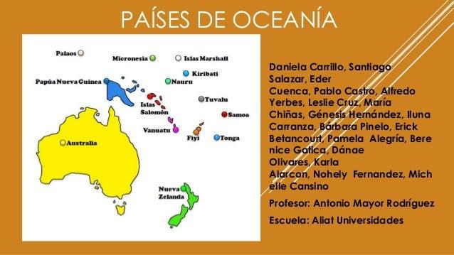 Países De Oceanía Grupal
