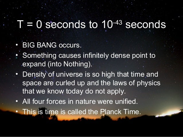some evidence that the universe is infinitely big essay Free papers and essays on big bang theory the second observational evidence is the radiation produced by the big the initial big bang, the universe attained.