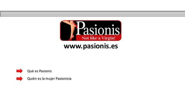 www.pasionis.es Qué es Pasionis Quién es la mujer Pasionista
