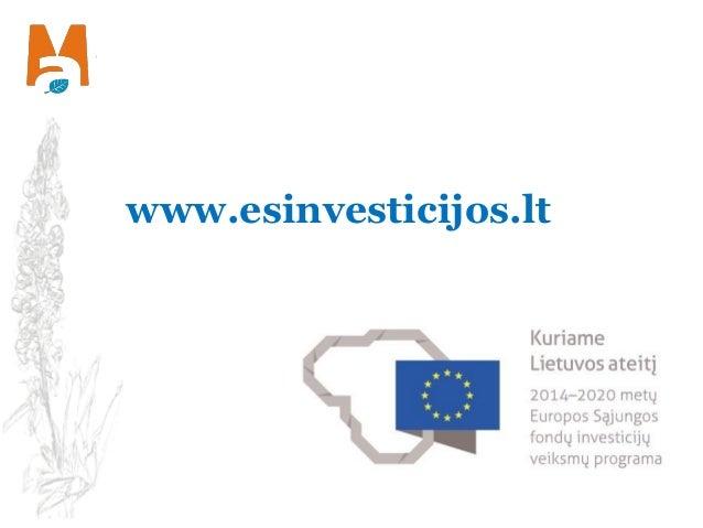 www.esinvesticijos.lt