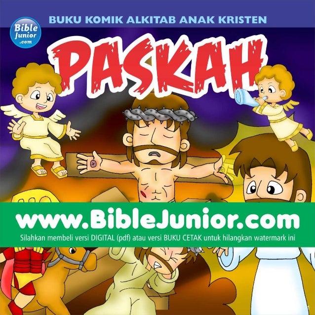 Paskah, Komik Rohani Alkitab Anak Kristen