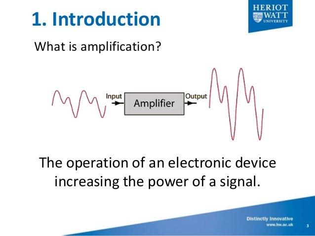 Design Basics on Power Amplifiers  Slide 3