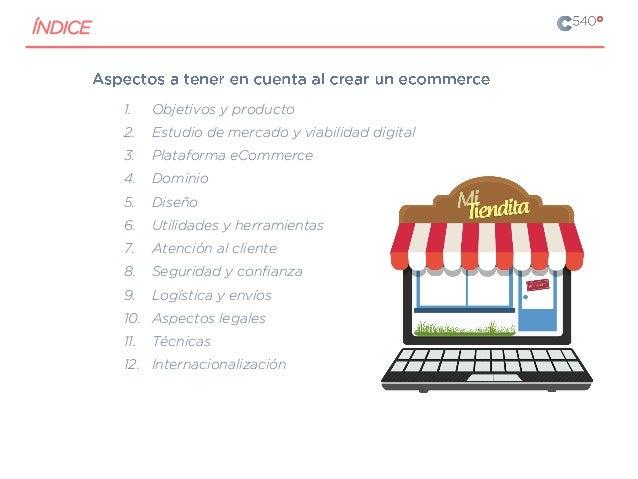 1. Objetivos y producto 2. Estudio de mercado y viabilidad digital 3. Plataforma eCommerce 4. Dominio 5. Diseño 6. Utilida...