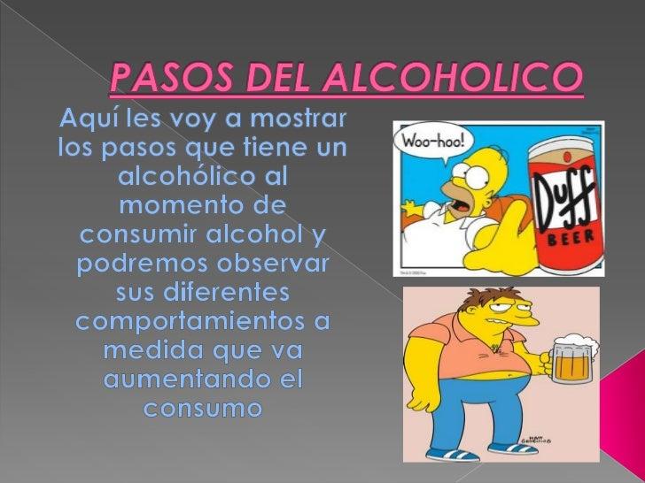 PASOS DEL ALCOHOLICO<br />Aquí les voy a mostrar los pasos que tiene un alcohólico al momento de consumir alcohol y podrem...