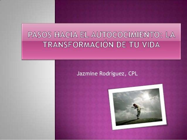 Jazmine Rodríguez, CPL
