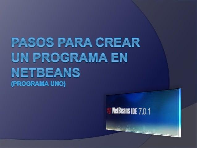 Abrir NetBeans