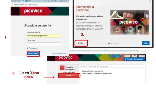 1. Completar nombre para el video.  ( no aparecerá en el video)  2. Clic en: 'Crear'  3.Clic en el estilo para el video.  ...