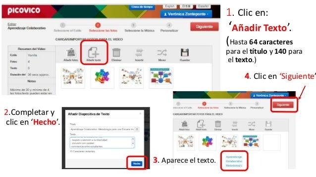 Seleccionamos la  diapositiva si  queremos:  Cambiarla de  lugar. (arrastrarla )  Eliminarla. ( clic  en la cruz)  Editar ...