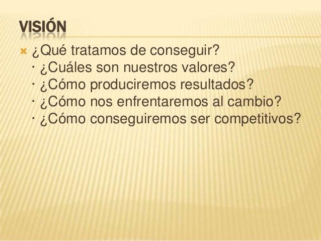 Pasos  para  elaborar  la  mision vision Slide 3