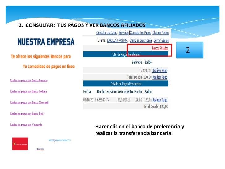 pasos para el registro de cliente y pagos en la pagina web
