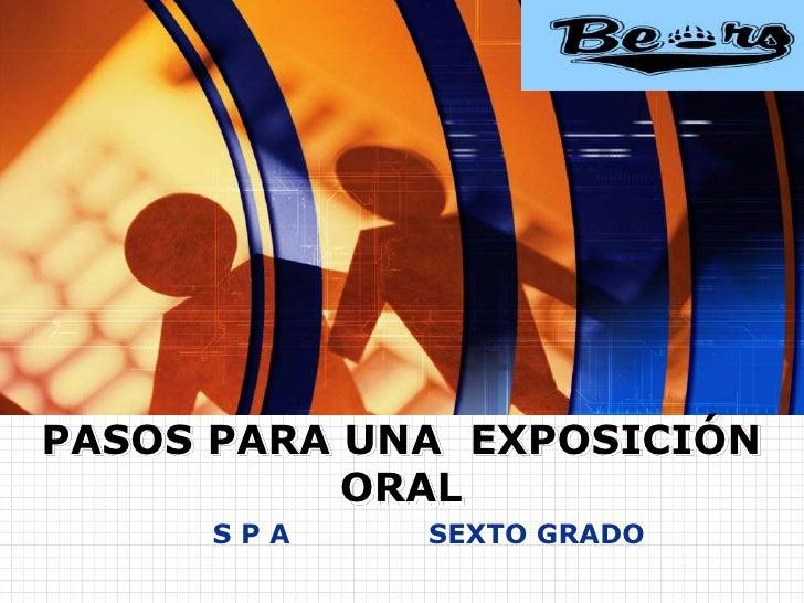 www.themegallery.com                                         LOGOPASOS PARA UNA EXPOSICIÓN           ORAL     SPA     SEXT...