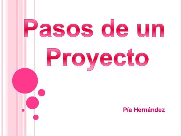 Pasos para hacer un proyecto - Como crear un proyecto ...
