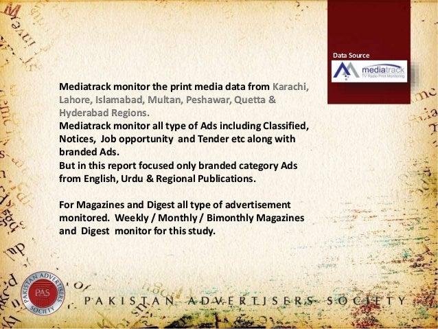Pas pakistan print media analysis for october 2018